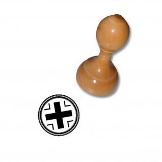 Stempel Balkenkreuz Bundeswehr Abzeichen #3595