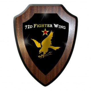 Wappenschild / Wandschild - 2d Fighter Wing United States Air Force Luftwaffe USA Amerika Military Militär Abzeichen Emblem #18892