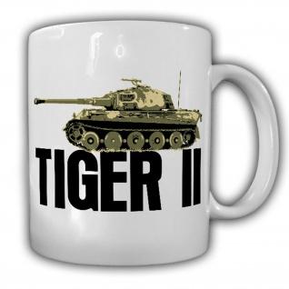 Tasse Tiger 2 Panzer Königstiger Ardennen Offensive Panzerkampfwagen #18529