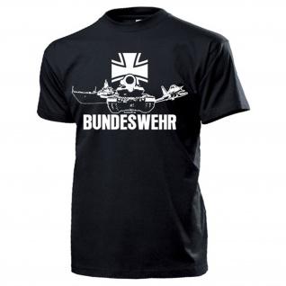 BUNDESWEHR Heer Marine Luftwaffe Deutschland Schiff Panzer - T Shirt #15891