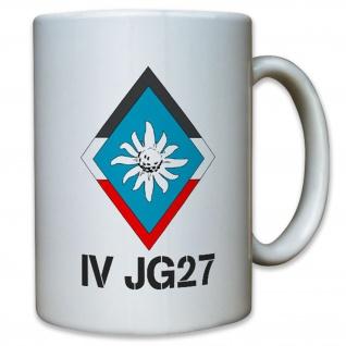 IV JG 27 Jagdgeschwader Gruppe 27 Luftwaffe WK 2 WW II - Tasse #12909
