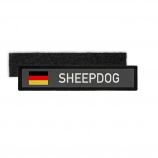 Namenspatch Sheepdog Schäferhund Hund Geschirr Gestell Flagge Abzeichen #30410