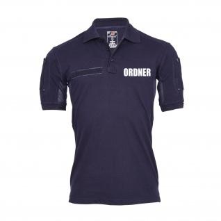 Tactical Poloshirt Ordner Regeln Sicherheit Dienst Berufsbekleidung #30157