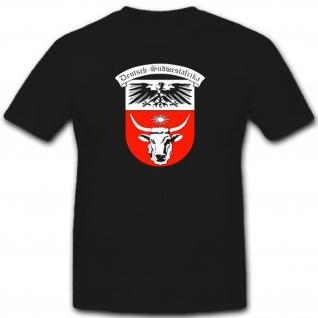 Deutsch-Südwestafrika Deutschland Kolonie Wappen Südwest - T Shirt #7541