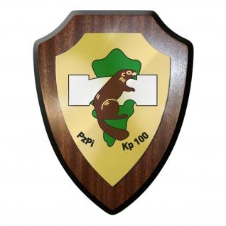 Wappenschild - PzPiKp 100 Panzer Pionier Kompanie Biber Heer Bundeswehr #11669