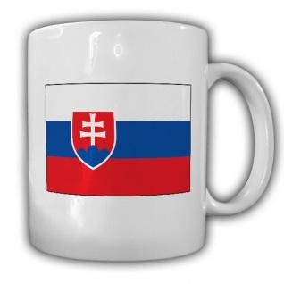 Republik Slowakische Fahne Flagge Kaffee Becher Tasse #13902