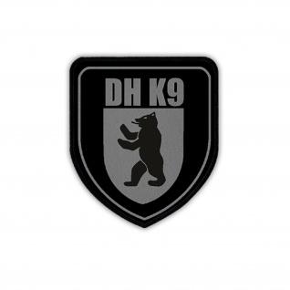 Patch DH K9 Hundeführer Heimatschutz Polizei Einheit Wappen Emblem #18750