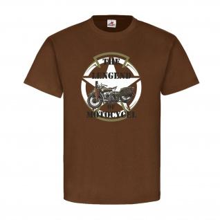 THE LEGEND OF MOTOCYCLE Biker Army Rocker Machines Motorrad USA T-Shirt #20596