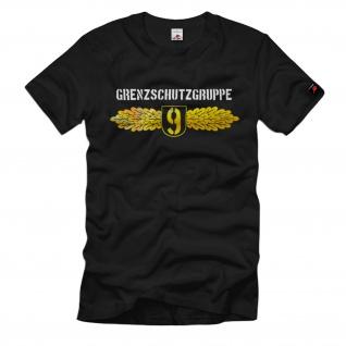 Grenzschutzgruppe 9 Bundesgrenzschutz Zoll Bundespolizei T Shirt #1454