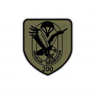 Patch / Aufnäher - FSK 200 Fernspähkompanie 200 BW Wappen #18614