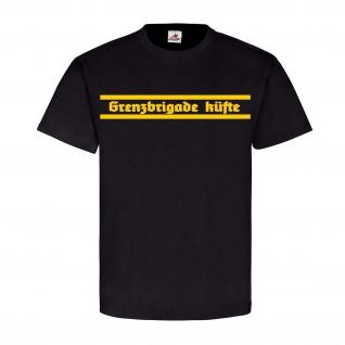 Grenzbrigade Küfte der DDR Militär Einheit Truppe Wappen Siegel TShirt #22674