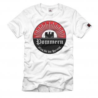 Pommern Alles für die Heimat Wappen Adler Emblem #183