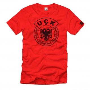UCK Kosovo Militär Einheit Organisation Wappen T Shirt #102