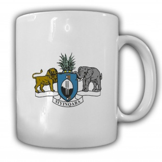 Tasse Königreich Swasiland Wappen Emblem Kaffee Becher #13931