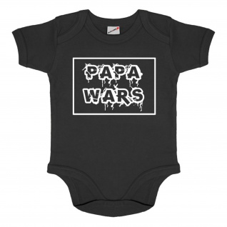Baby Body Papa wars Fun Humor Strampler Tochter Sohn Kinder Party #34561