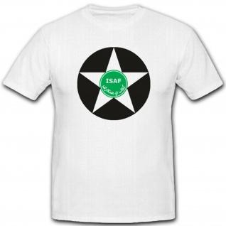 Isaf Stern War Einheit Nato Afghanistan International Security T Shirt #2041