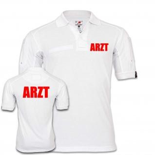 Tactical Polo ARZT Notarzt Bekleidung Einsatz Hemd Praxis Krankenhaus #25049