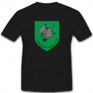 PzJgKp150 Panzerjägerkompanie 150 Abzeichen Wappen Militär - T Shirt #2662