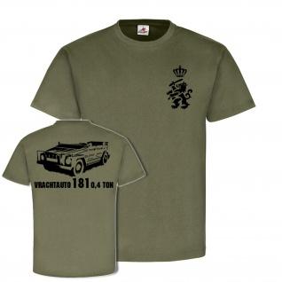 Vrachtauto 181 0, 4 ton Koninklijke Landmacht Holland Kübelwagen T Shirt #20008