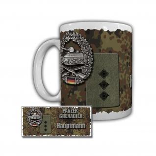 Tasse Panzergrenadier Hauptmann Panzerbrigade 12 Bohne Bundeswehr #29865
