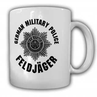 Feldjäger German Military Police Bundeswehr BW Militär - Tasse #26573