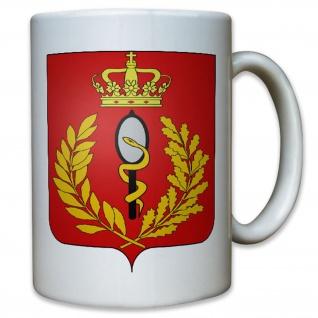 Belgian Medical Component begische Armee Wappen Sanitäter Belgien - Tasse #12531