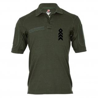Tactical Poloshirt Alfa - Oberstabsfeldwebel Dienstgrad BW Abzeichen #19213