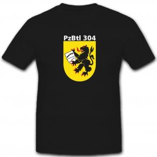 PzBtl 304 Panzerbataillon Bataillon Bundeswehr Bw Wappen Abzeichen T Shirt #4851