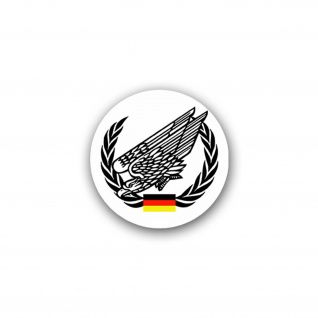 Aufkleber/Sticker Fallschirmjäger Fallschirmjägertruppe Infanterie 7x7cm A1742