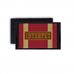Einsatzbandschnallen INTERFET Patch International Force East Timor Nato #33777
