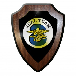 Wappenschild / Wandschild -SEAL Team 8 Navy USA US Amerika Sof #9855
