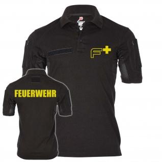 Tacticakl Polo Feuerwehr Einsatz Typ2 F Logo Mann Freiwillife #24364
