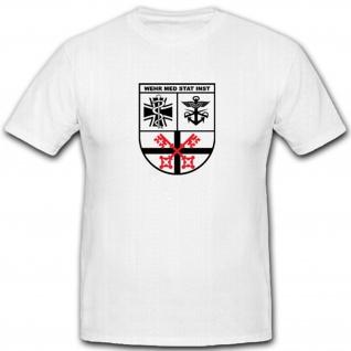 Institut für Wehrmedizinalstatistik und Berichtswesen Bundeswehr - T Shirt #4445