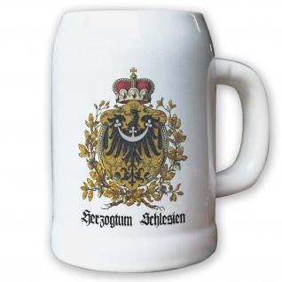 Krug / Bierkrug 0, 5l - Herzogtum Schlesien Kurfürstentum Österreich Herzog #9466