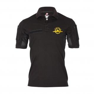 Tactical Poloshirt 1 Ubootgeschwader Kiel_U-Boot Abzeichen GOLD Shirt #35474