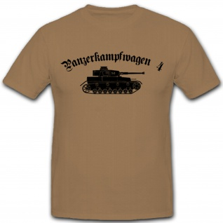 Panzerkampfwagen 4 WH Fahrzeug Bundeswehr Panzer T Shirt #2961