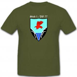Stab 1-Jg77 Luftwaffe Jagdgeschwader Bundeswehr WK WH T Shirt #2459