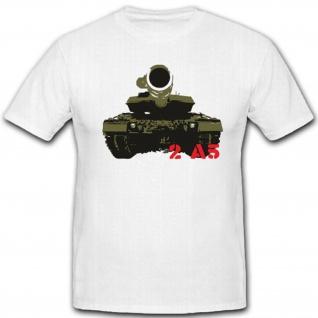 2 A5 Panzer Geschütz Militär Waffe Bundeswehr WK Wh - T Shirt #3262
