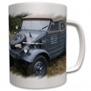 Typ 82 Geländewagen Kübel Kübelwagen WK 2 Oldtimer - Tasse Becher Kaffee #6837