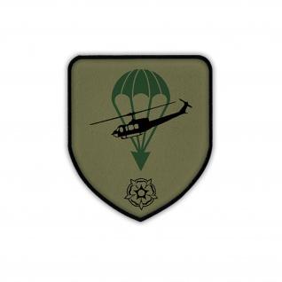 Patch / Aufnäher - LLBrig 27 Stabskp Tarn Luftlandebrigade Bund Lippstadt #19182