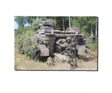 Poster M&N Pictures Panzergrenadiere beim Absetzen SpZ Marder 30x20cm#30261