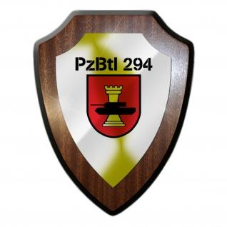 Wappenschild PzBtl 294 Panzerbataillon BW Heer Militär Kompanie Einheit #27058