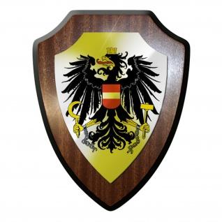 Wappenschild / Wandschild - Österreich Adler Wappen Flagge Fahne #9717