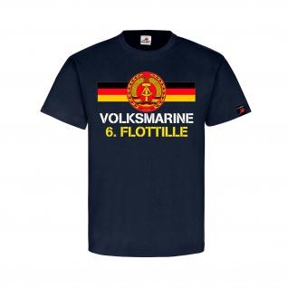 Volksmarine 6 Flottille Marine DDR Deutschland MSR T Shirt #31792