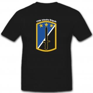 U.S Armee Militär Wappen Abzeichen Infantrie Brigade Emblem - T Shirt #3116