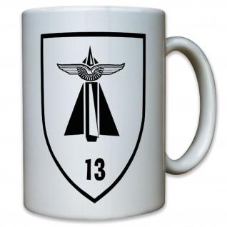 FlaRgt 13 Flugabwehr Regiment Bundeswehr Bund Bw Wappen Abzeichen - Tasse #11770