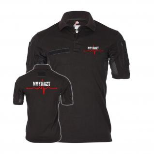 Tactical Polo Notarzt Reflektierend Notfallsanitäter Rettungsdienst Shirt#34926