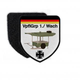 Patch VpflGrp 1 Wach Verpflegungsgruppe Feldküche TFK 250 BW Taktisch #23661