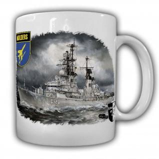 Tasse Lukas Wirp Zerstörer Mölders D 186 Marine Kriegs-Schiff #25003