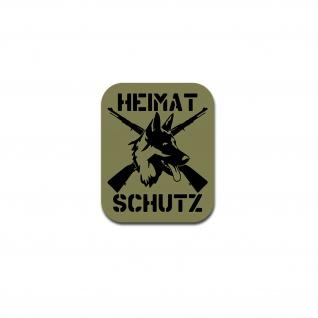 Heimatschutz Sticker Aufkleber Homeland Security Deutscher 10x12cm#A4952